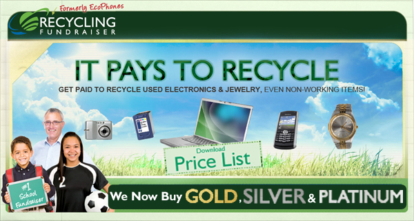 EcoPhones is now Recycling Fundraiser